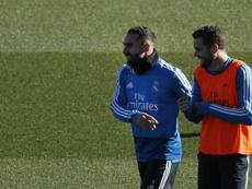 La blessure de Carvajal a empêché le transfert de Nacho. EFE
