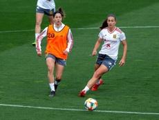 El Real Madrid Femenino es firme candidato a la conquista de títulos. EFE