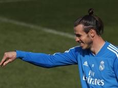 Bale parece tener claro que no se mueve del Madrid. EFE