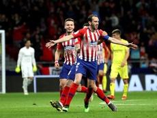 Godín pourrait jouer ses derniers matchs sous le maillot de l'Atlético. EFE