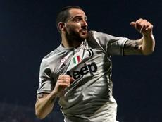 La Juventus prolonge le contrat de Leonardo Bonucci. EFE