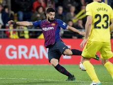 Messi and Suarez salvaged a draw when it looked dead. EFE