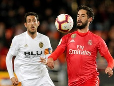 Isco will not listen to offers: his aim is to stay at Real Madrid. EFE