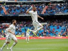 Benzema fait aussi bien que Messi. EFE