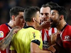 Diego Costa ne rejouera plus cette saison. EFE