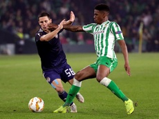 Junior Firpo is on Liverpool's radar. EFE