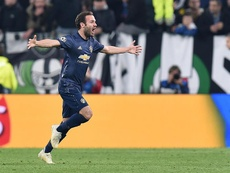 Juan Mata could well stay on at United. EFE/Archivo