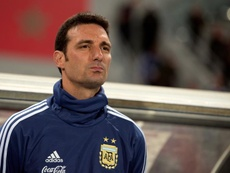 Scaloni hizo repaso antes de afrontar la Copa América. EFE/Archivo