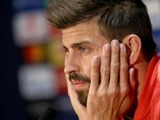 Piqué habló de la opción de ser directivo o presidente del Barça. EFE