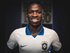 Tite deja fuera a Vinicius de la lista de Brasil. EFE/PedroMartins/Nike