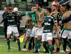 Victoria cómoda de Palmeiras. EFE
