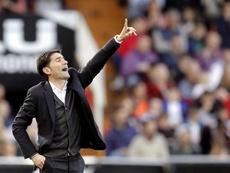 Marcelino ya piensa en las semifinales. EFE/Archivo