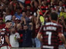 Flamengo inscribió a tres nuevos jugadores. EFE