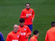 Diego Godín ne prolonge toujours pas à l'Atlético. EFE