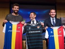 El Andorra de Piqué podría ocupar la plaza del Reus en Segunda B. EFE/Archivo
