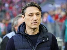 Niko Kovak confirmou o desentendimento no treino. EFE