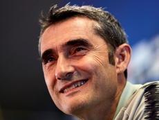 Valverde's impressive record at Barcelona speaks for itself. EFE