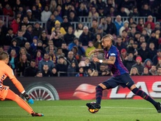 Kévin-Prince Boateng joue la Ligue des Champions à la maison. EFE