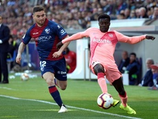 Officiel : le Barça prête Wagué au PAOK. EFE