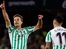Canales vuelve a una lista sin Borja Iglesias. EFE