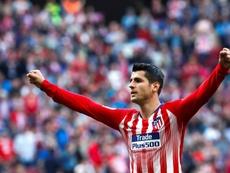 Morata est heureux à Madrid. EFE