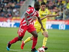 Seydou Doumbia no cuajó en el Girona. EFE