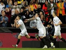 El Valencia castiga la reventa. EFE
