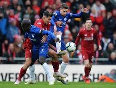 Liverpool investigará os incidentes em Anfield no duelo frente ao Chelsea. EFE