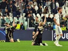 L'Ajax a été félicité par le monde du football. EFE