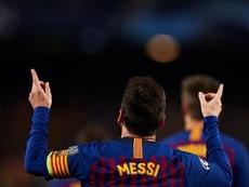 Messi logró su cuarto MVP de la temporada en Europa. EFE/Archivo