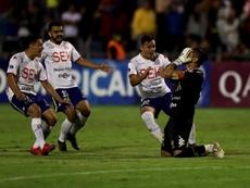 La tanda salva a Unión Española ante un Segunda. EFE