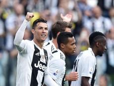 A Juventus venceu e sagrou-se campeã italiana. EFE