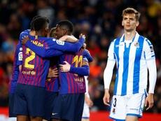 Le Barça s'est offert une nouvelle victoire. EFE