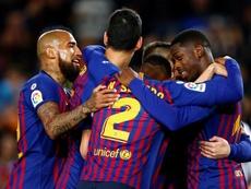 Una pizca de Messi, un par de goles... y otro triunfo más. EFE