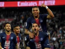 Kylian Mbappé, l'homme de l'année dans le football français. EFE
