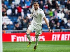 Benzema tem um desafio pela frente nas próximas três jornadas. EFE