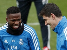 Vinicius Junior reviewed his time as a Madrid player. EFE