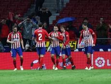 L'Atlético a laissé des points vitaux à l'extérieur. EFE