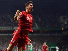 Robert Lewandowski may be leaving Bayern at the end of the season. EFE
