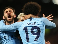 Manchester City laissera partir Sané au Bayern Munich. EFE