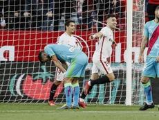 El Sevilla le metió una 'manita' al Sevilla. EFE/Archivo