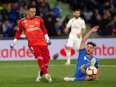 El Benfica preguntó al Madrid por la situación de Navas. EFE