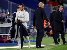 Zidane anunció que Bale dejará el club. EFE