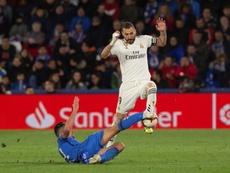 Benzema potrebbe aver già concluso la stagione. EFE/Archivo