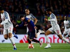 Van Dijk fala sobre Messi. EFE