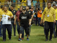 Castro amarga a Maradona. EFE