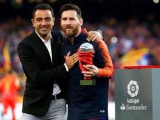 Xavi empezará su carrera como entrenador en Cataluña. EFE