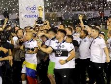 Olimpia, campeón del Apertura 2019. EFE