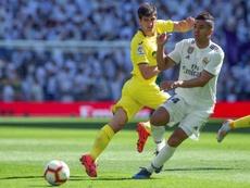 El Villarreal solo se ha impuesto una vez al Madrid. EFE