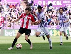 Valladolid se medirá al Racing en pretemporada. EFE